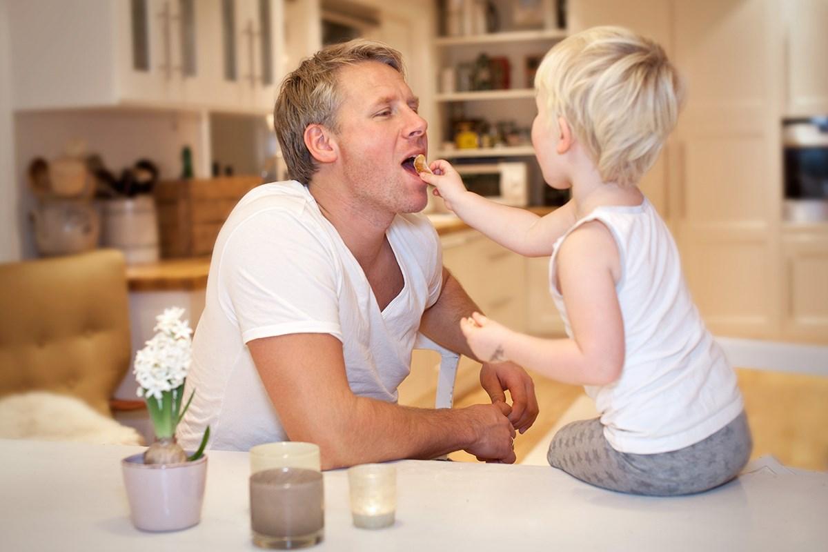din og min ring far med trinn datter