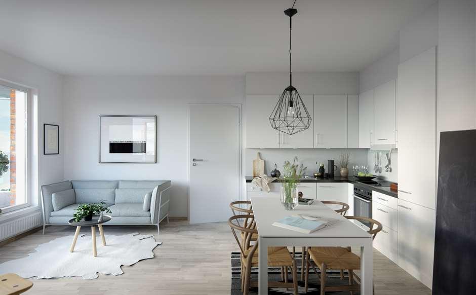 Fersk Innredningstips for små leiligheter | Selvaag Bolig VQ-98