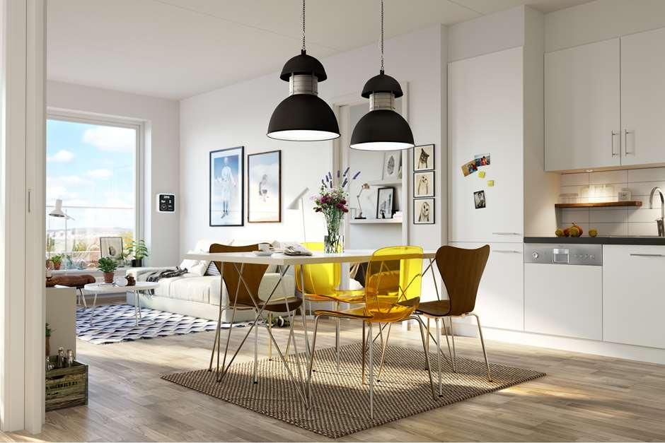 Enormt Innredningstips for små leiligheter | Selvaag Bolig ID-25
