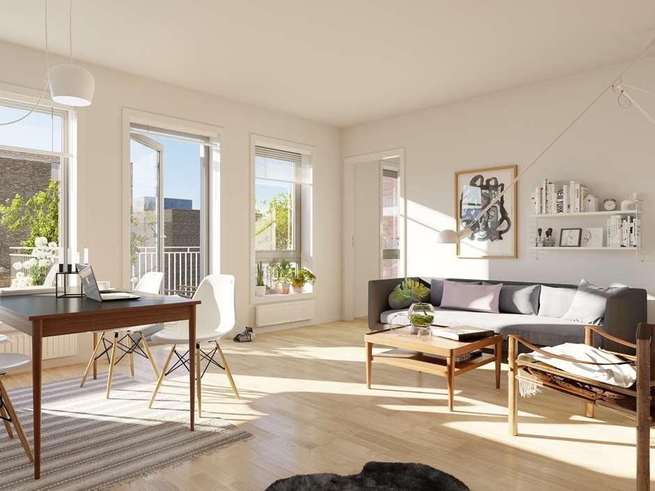 Glimrende Innredningstips for små leiligheter | Selvaag Bolig DP-53