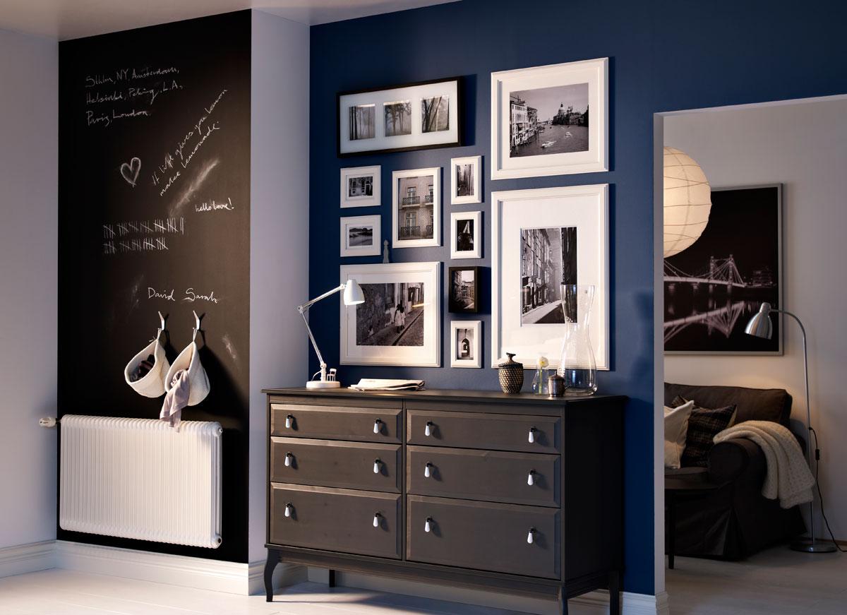 plassering av bilder på vegg