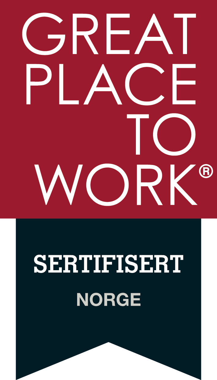 Sertifiseringslogo Great Place to Work
