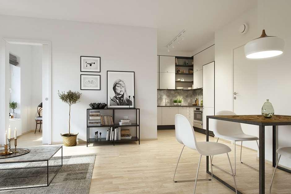 Modish Innredningstips for små leiligheter | Selvaag Bolig LG-03
